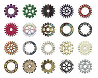 Gears collection #5 royalty free illustration