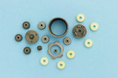 Gears collection Royalty Free Stock Photo