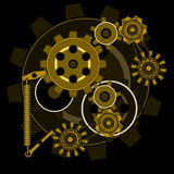 Gears composition Royalty Free Stock Image