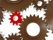 Gears concept background Stock Photos