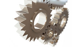 Gears concept background,machine gear Royalty Free Stock Images