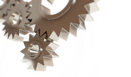 Gears concept background Stock Photo