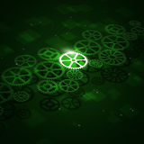 Gears Concept Busines Background Royalty Free Stock Image