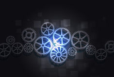 Gears Concept Business Background Stock Images
