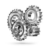 Gears concept - business connections Royalty Free Stock Photo