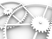 Gears connection Royalty Free Stock Images