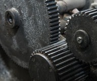 Gears construction Royalty Free Stock Images