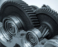 Gears construction Royalty Free Stock Image