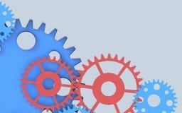 Gears Creativity Inspiration Concept Background Stock Photo