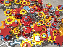 Gears 3d Royalty Free Stock Photo