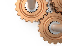 Gears, 3D Royalty Free Stock Photos