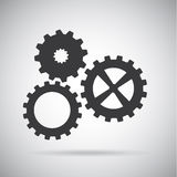 Gears design Stock Images