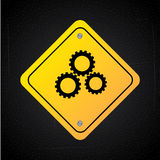 Gears design Royalty Free Stock Photo