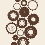 Gears design Stock Photography