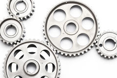 Gears engagement Royalty Free Stock Photo