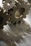 gears goldishmetall Royaltyfria Foton