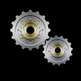 Gears (Grey) Stock Image