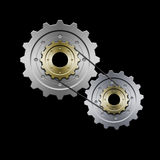 Gears (Grey) Stock Images