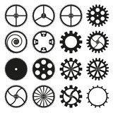 Gears icon Stock Photography