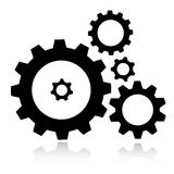 Gears icon Royalty Free Stock Image