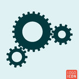 Gears icon. Gears icon. Cog wheels. Union, teamwork symbol Vector illustration Stock Photos