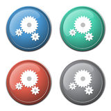 Gears icon Stock Photo