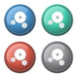 Gears icon Stock Photo