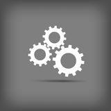 Gears icon. Royalty Free Stock Photography