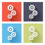 Gears icon Royalty Free Stock Photography