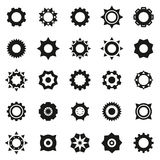 Gears icons set Royalty Free Stock Photo