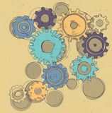 Gears illustration Royalty Free Stock Image