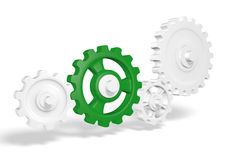 Gears illustration Royalty Free Stock Images