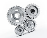 Gears isolated Royalty Free Stock Photos