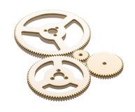Gears. Isolated on white background Royalty Free Stock Image