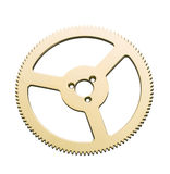 Gears. Isolated on white background Stock Photo