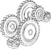 Gears Royalty Free Stock Images