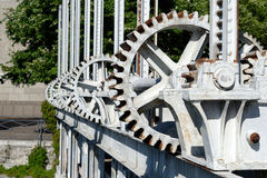 The gears Stock Photography