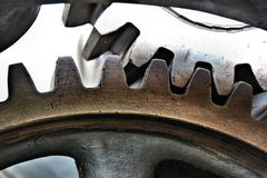 Gears of an machine Royalty Free Stock Images