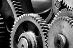 Gears-machinery Royalty Free Stock Image