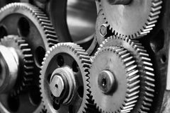 Gears-machinery Stock Images
