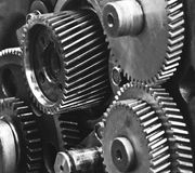 Gears-machinery Stock Photography