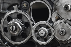 Gears-machinery Stock Photos