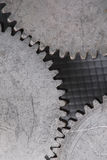 Gears macro Royalty Free Stock Photography
