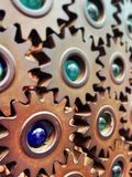 Gears & Marbles Royalty Free Stock Photo