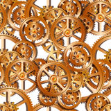 Gears mechanical seamless Stock Images