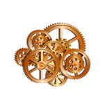 Gears mechanical 01 Stock Images