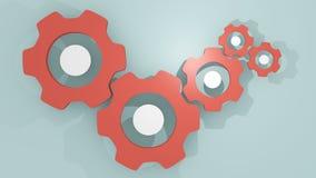 Gears mechanism Stock Images