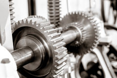 Gears from mechanism Stock Images
