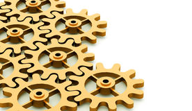 Gears mechanism concept Royalty Free Stock Image