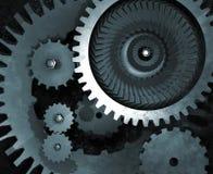 gears mekaniskt royaltyfri illustrationer